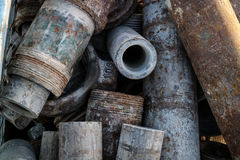 Metal Rohr Lizenzfreies Stockfoto