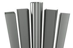 Metal Rohr, Träger, Winkel, Kanäle Lizenzfreie Stockbilder