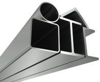 Metal Rohr, Träger, Winkel, Kanäle Stockbilder