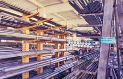 Metal Rohre Lizenzfreie Stockbilder