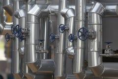 Metal Rohre 4 Stockbild