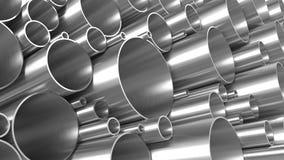 Metal Rohre Stockfotos