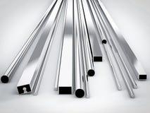 Metal Rohre lizenzfreie stockfotografie