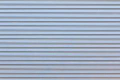Metal rolkowa żaluzja dla tła fotografia stock