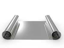 Metal roll Stock Image