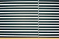 Metal roll curtain Stock Photography