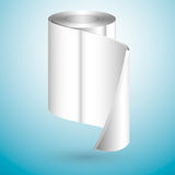 Metal roll Royalty Free Stock Image