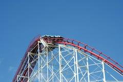 Metal Roller Coaster Royalty Free Stock Image