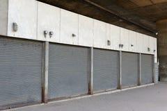 Metal roller door Stock Images