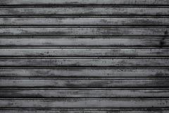 Metal roller shutter door Stock Image
