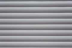 Metal roller shutter Royalty Free Stock Image