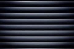 Metal roller shutter Stock Image
