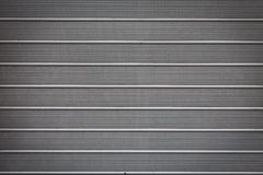 Metal roller shutter Royalty Free Stock Photography