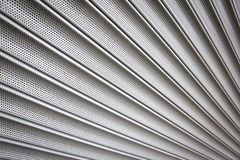 Metal Rolling Security Shutters Background Stock Photo