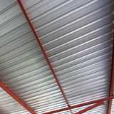 Metal roof. Texture and background stock photos