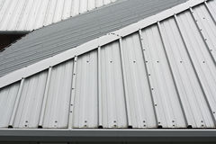 Metal roof background Royalty Free Stock Image