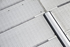 Metal roof background Royalty Free Stock Images