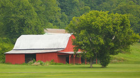 Metal Roof Barn Royalty Free Stock Photo