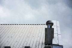 Metal roof Royalty Free Stock Image