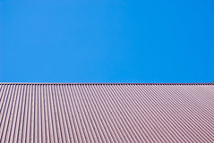 Metal roof Royalty Free Stock Photo