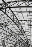 Metal roof structure Royalty Free Stock Images