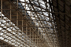 Roof structure at Manchester Piccadilly rail station Stock Photography