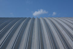 Metal roof Royalty Free Stock Images