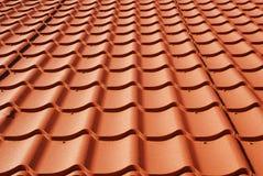 Metal roof. Texture background closeup royalty free stock photos