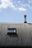 Metal roof Royalty Free Stock Photography
