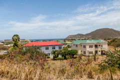 Metal Roofed Tropical Apartments Royalty Free Stock Images
