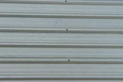 Metal roofing on commercial construction Royalty Free Stock Images