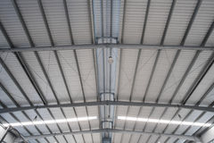 Metal roofing Royalty Free Stock Images