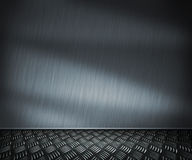 Metal Room Background Royalty Free Stock Photo