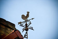 Metal rooster Royalty Free Stock Photo