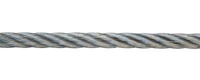 Metal rope Stock Photo