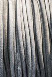 Metal rope closeup Royalty Free Stock Image