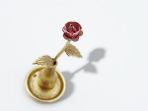 Metal Rose Stock Photography
