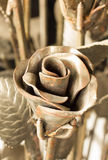 Metal rose Stock Image