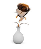 Metal rose Royalty Free Stock Photography