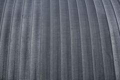 Metal round roof hangar sharp . Metal round roof hangar sharp Stock Images