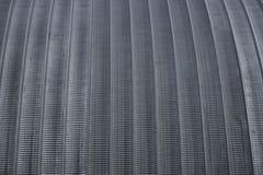Metal round roof hangar texture.  Stock Image