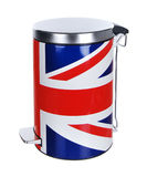 Metal rubbish bin Stock Photos