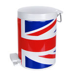 Metal rubbish bin Royalty Free Stock Photos