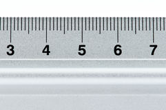 metal ruler στοκ εικόνες