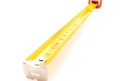 Metal ruler Royalty Free Stock Photo