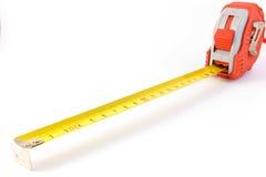 Metal ruler Stock Image