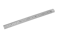 Metal ruler Stock Images