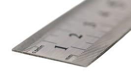 Metal ruler Royalty Free Stock Photos
