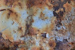 Metal rust background Royalty Free Stock Images