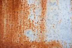 Metal Rust Background Metal Rust Texture. Beautiful unusual background. Rusted white painted metal wall. stock photos